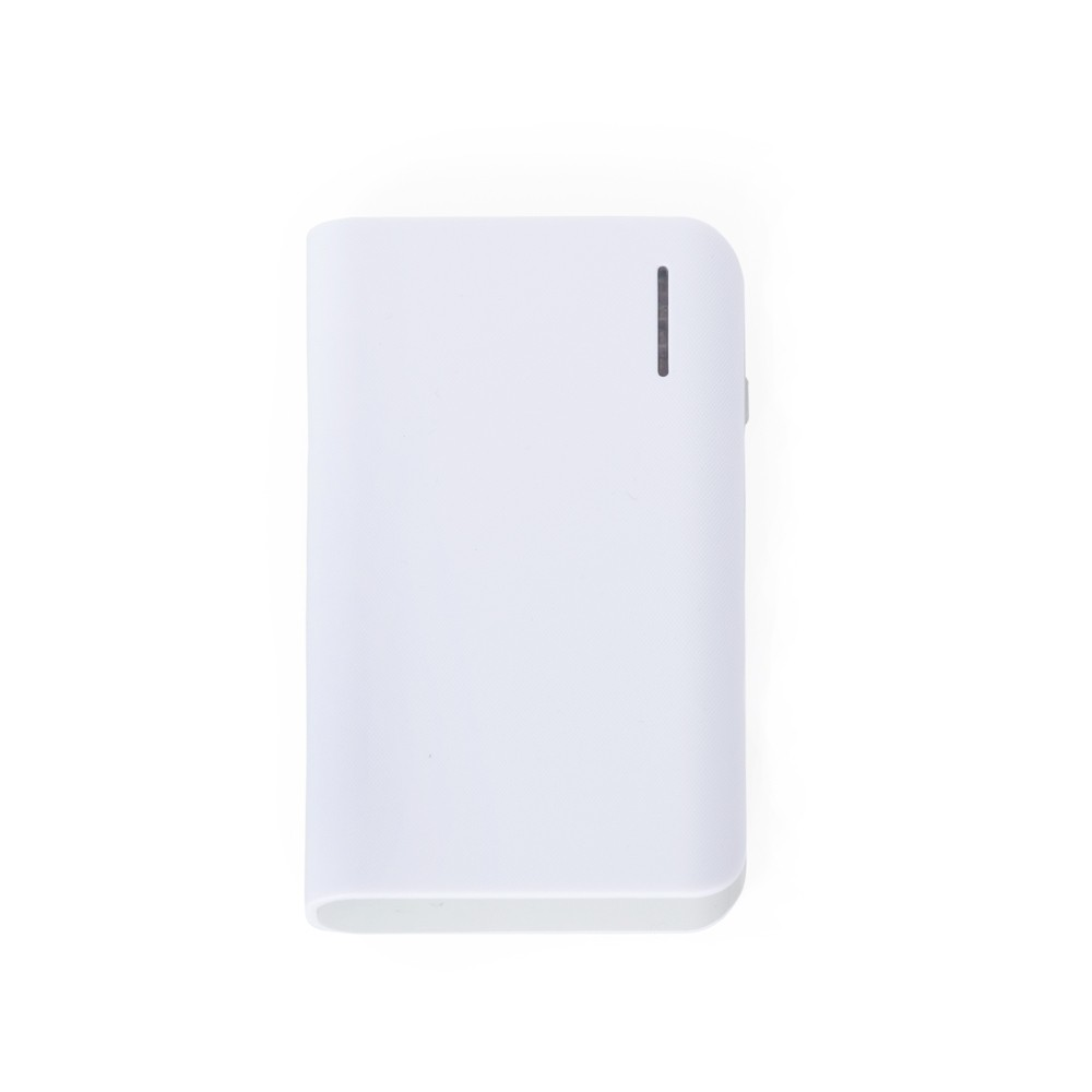 Power bank Plástico com Lanterna