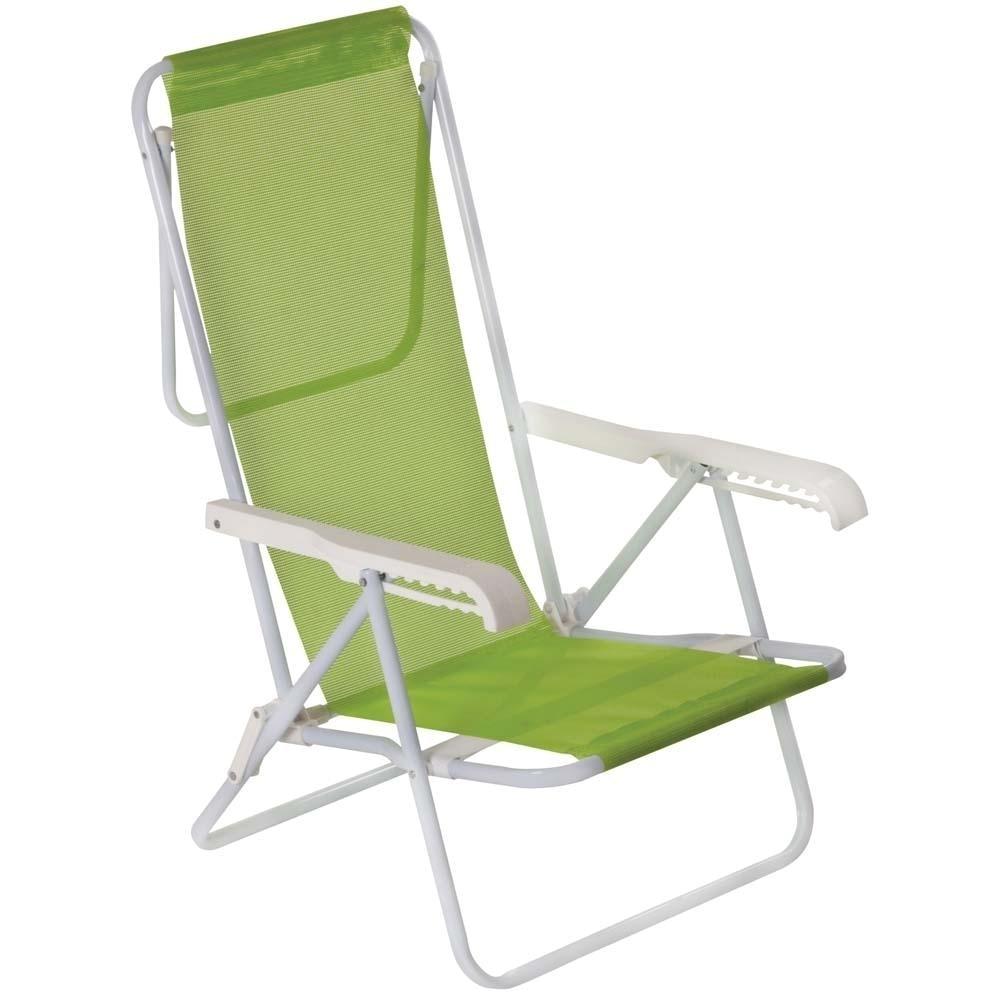 Cadeira Aço Reclinável