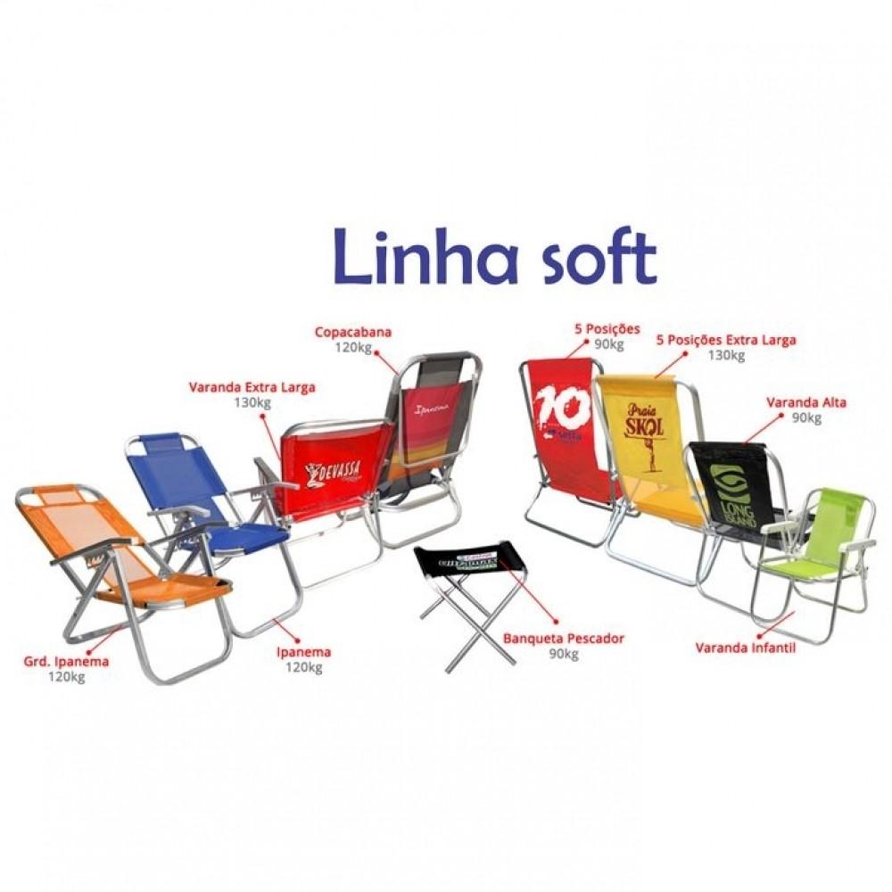 Cadeira alumínio Soft